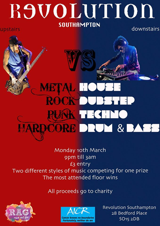 Event: Alternative vs. Electronic Music: Battle of the Genres